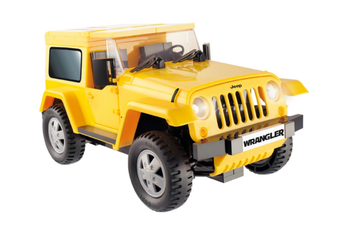 Конструктор COBI Машина Jeep Wrangler желтый