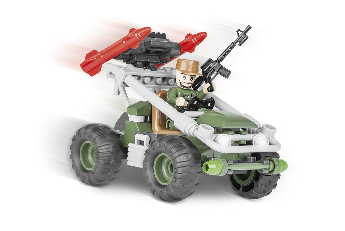 Конструктор COBI Ракетный автомобиль Rocket Support Vehicle