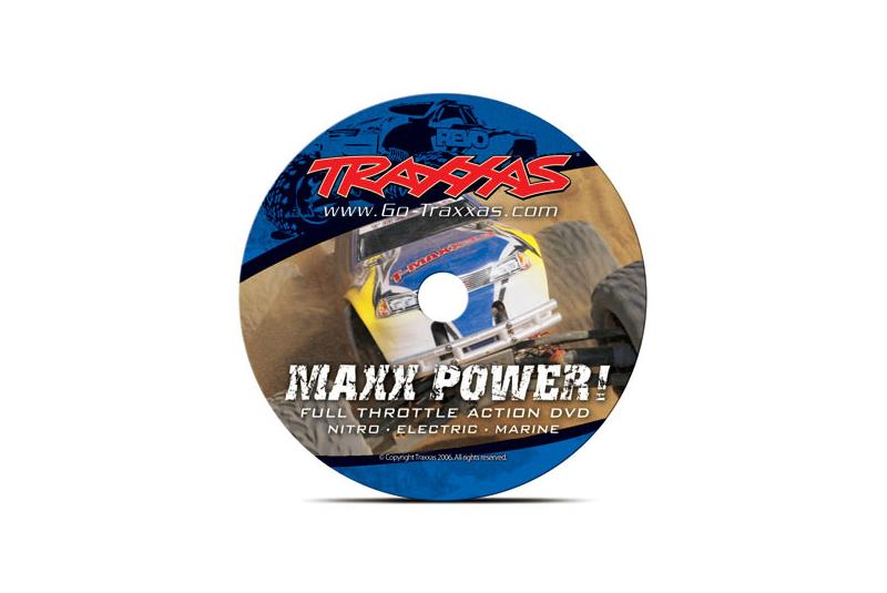 Запчасти для радиоуправляемых моделей Traxxas TRAXXAS DVD, Maxx Power! Full Throttle Action (sleeve)