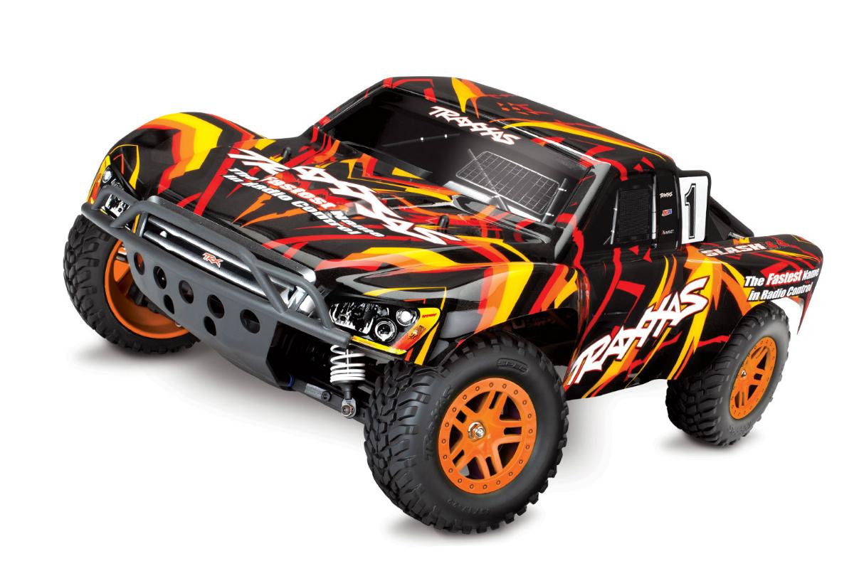 Радиоуправляемая машина TRAXXAS Slash 4x4 1:10 4WD