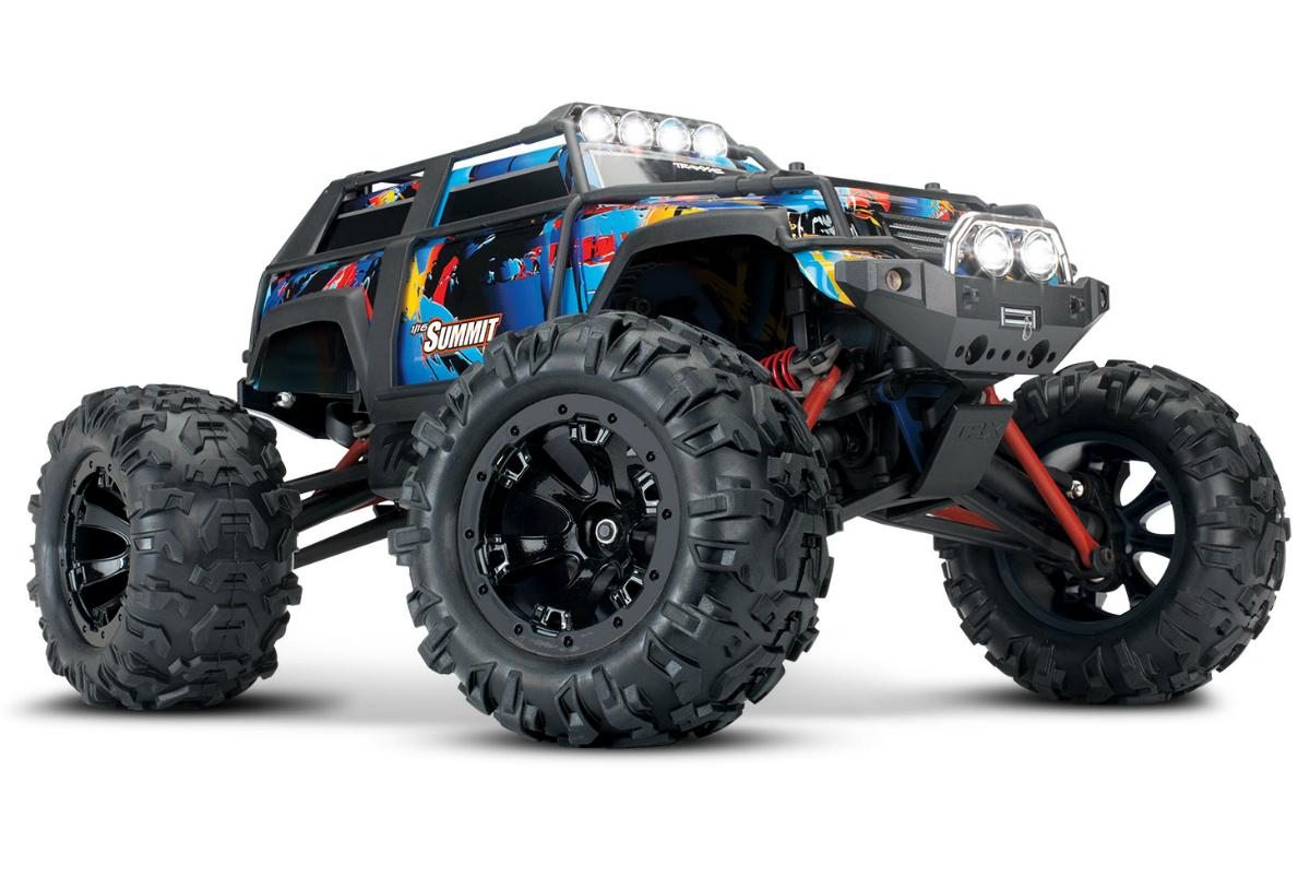 Радиоуправляемая машина TRAXXAS Summit 1:16 4WD + светотехника