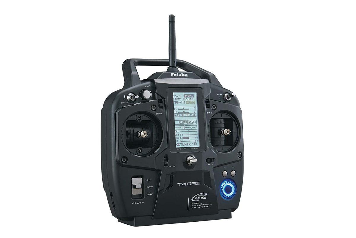 Аппаратура управления + приемник Futaba 4GRS 4-Channel 2.4GHz Computer Radio System