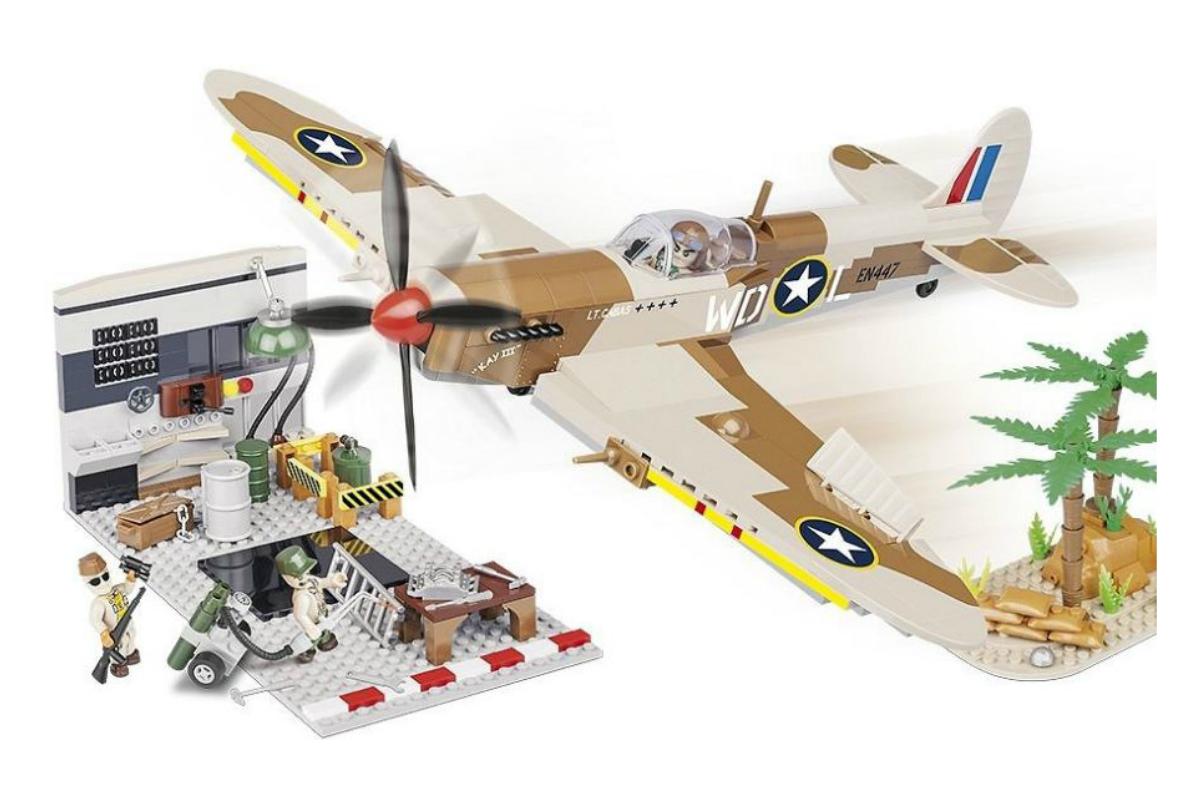 Конструктор COBI Supermarine Spitfire Maintenance Hangar