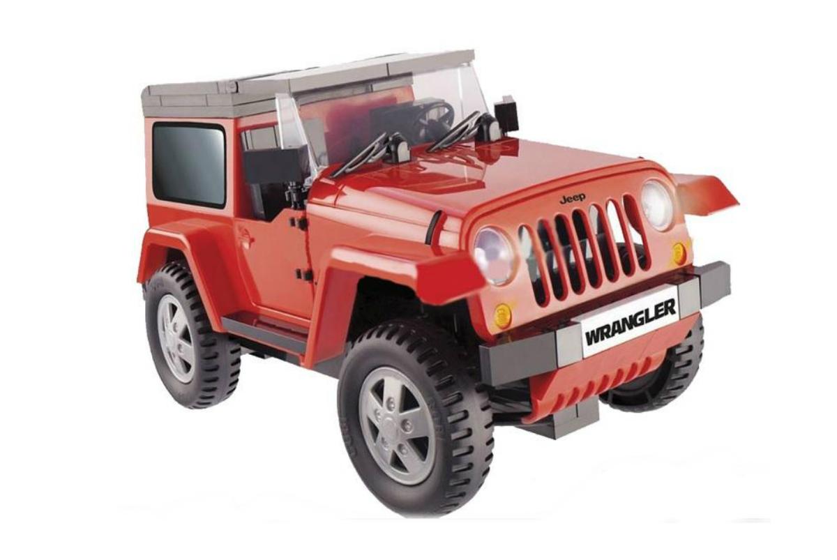 Конструктор COBI Машина Jeep Wrangler красный