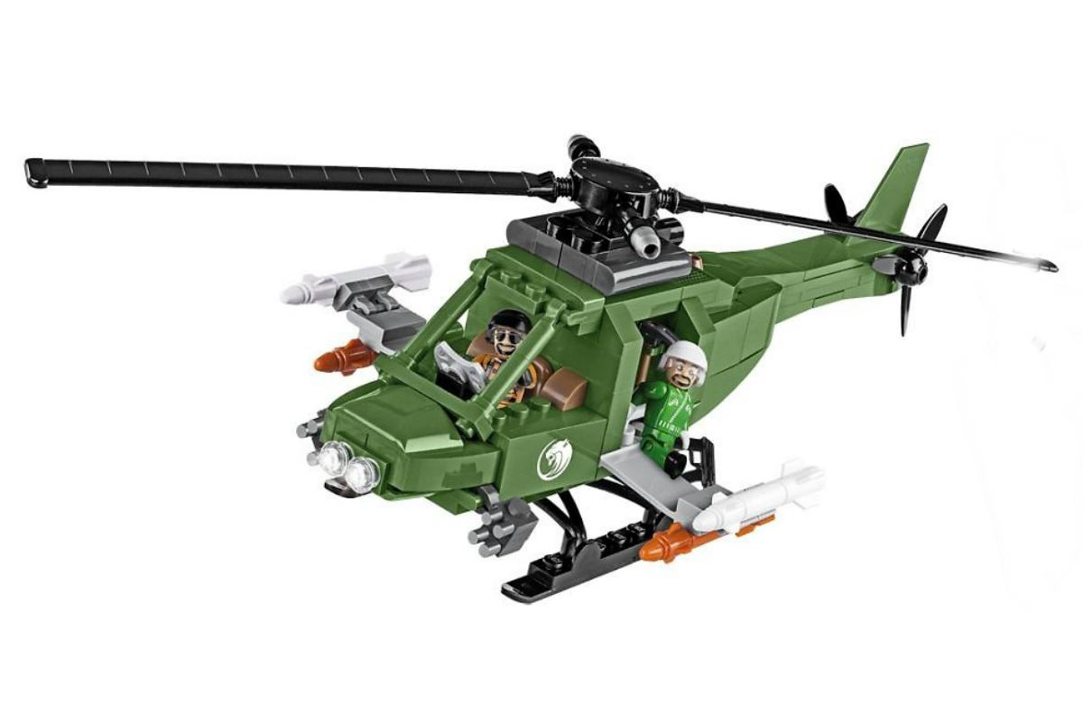 Конструктор COBI Вертолет Wild warrior attack helicopter
