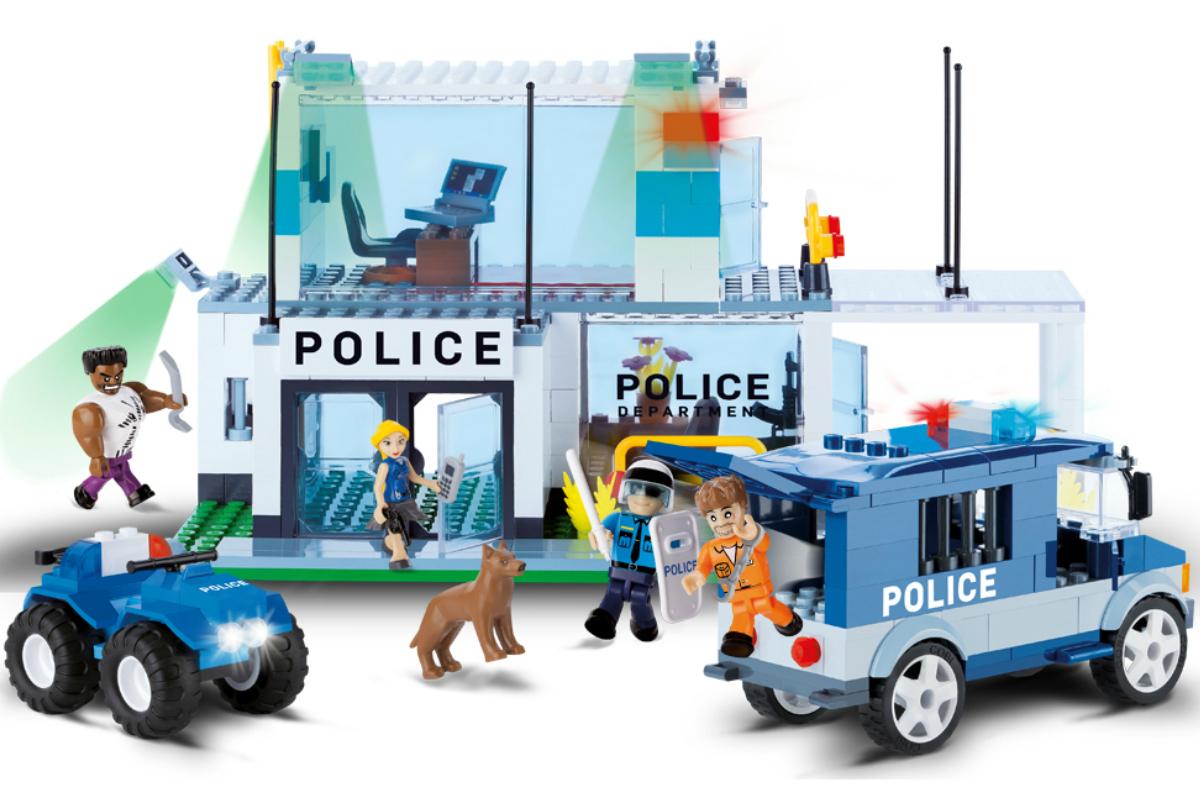 Конструктор COBI Полицейский участок