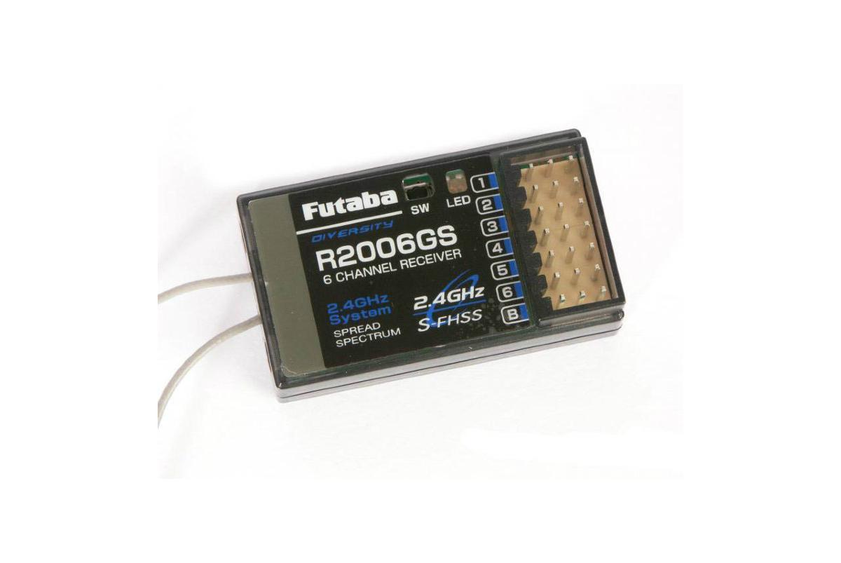 new futaba r2104gf 4 channel 2 4ghz s fhss receiver 4pl r2104gf Приемник аппаратуры управления моделями Futaba RECEIVER R2006GS-2.4G