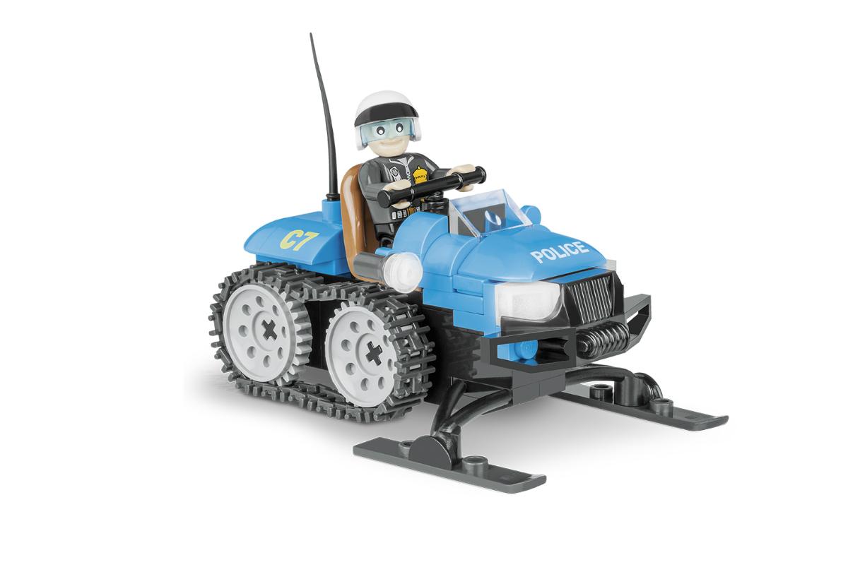 Конструктор COBI Полицейский снегоход Police Snowmobile
