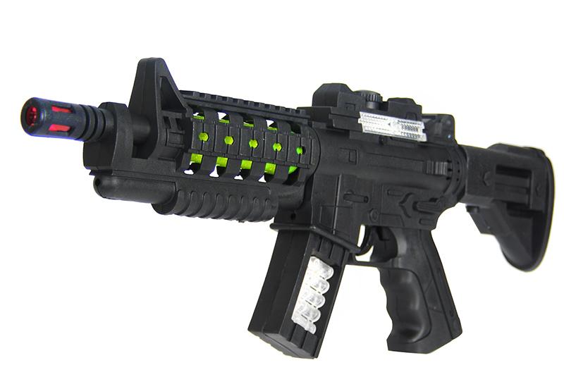 Детское оружие HC-Toys Автомат на батарейках