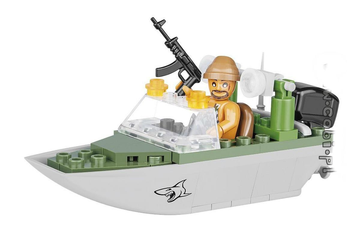 Фото - Конструктор COBI Shark patrol boat конструктор cobi lcvp higgins boat