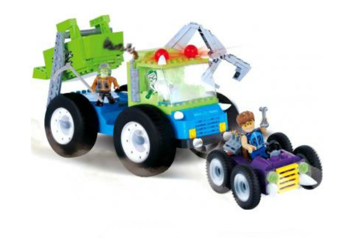 Конструктор COBI Грузовик-мусоровоз Monster Junk Trux