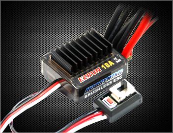 Фото - Регулятор оборотов бесколлекторный Hobbywing Ezrun 18A электродвигатель бесколлекторный hobbywing ezrun 3660 sl 4000 kv