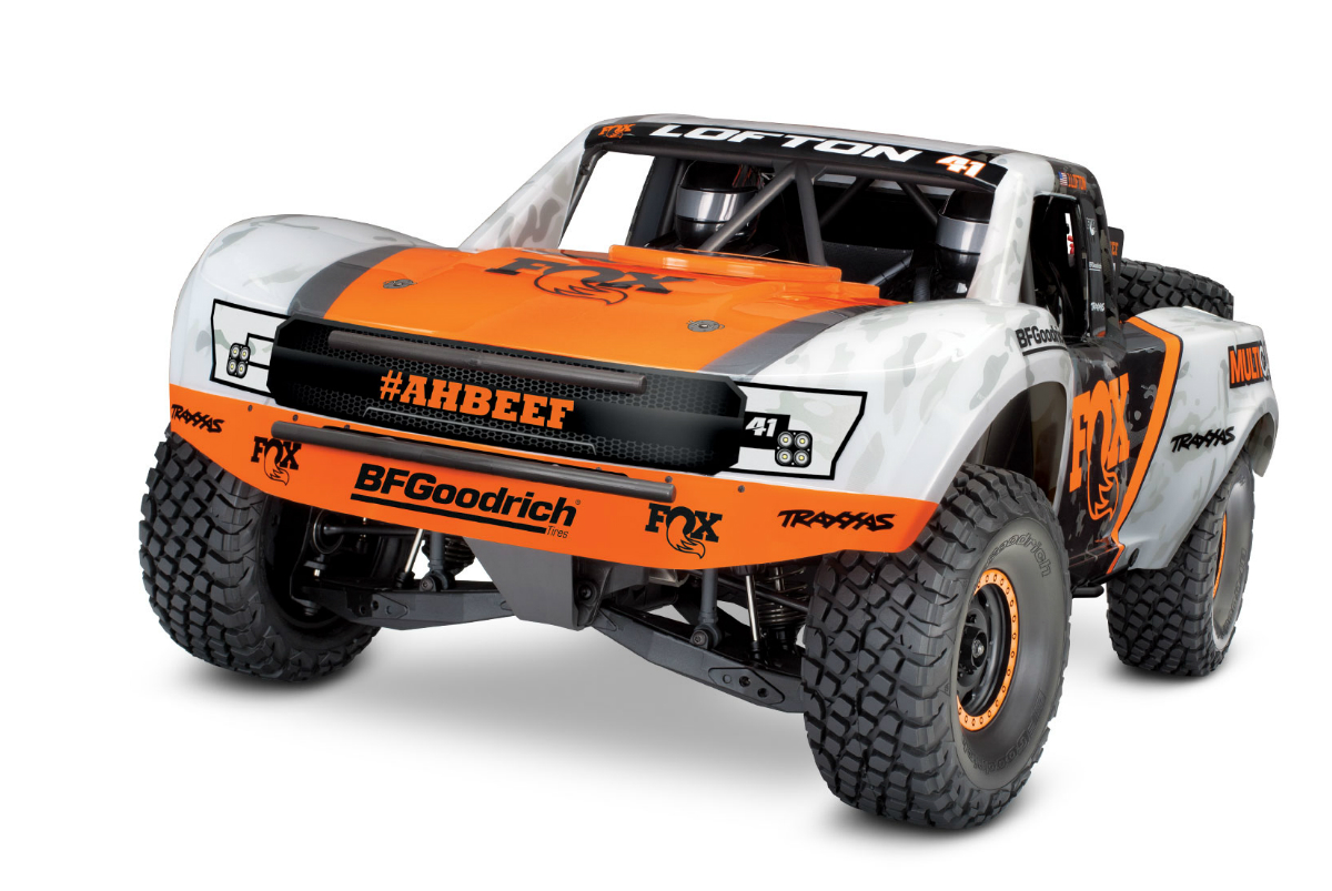 Радиоуправляемая машина TRAXXAS Unlimited Desert Racer 4WD
