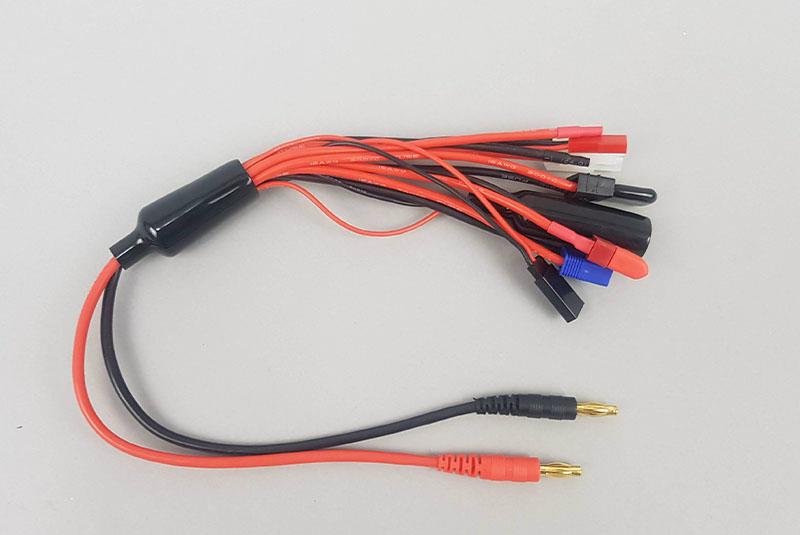 Кабели для зарядного устройства Fuse Adapter cord with 8 connectors