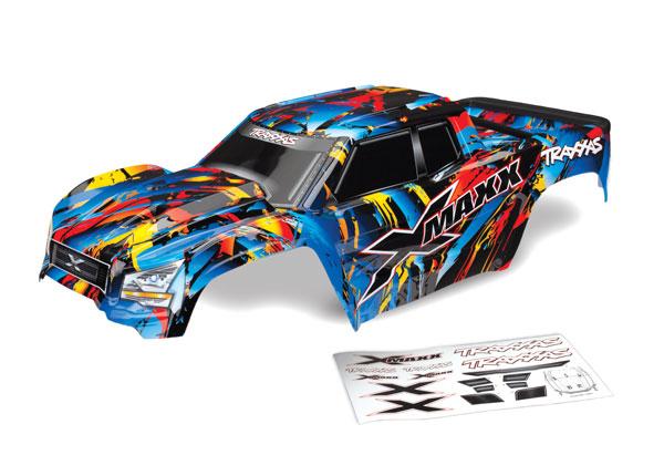 Аксессуары для радиоуправляемых моделей TRAXXAS Кузов для Traxxas X-MAXX ,цвет Rock n' Roll аксессуары для радиоуправляемых игрушек