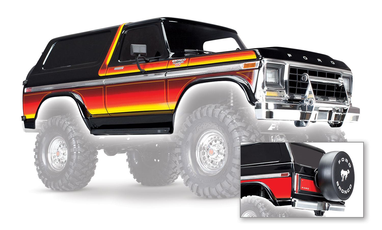 Кузов TRAXXAS TRX-4 Ford Bronco XLT (окрашенный)