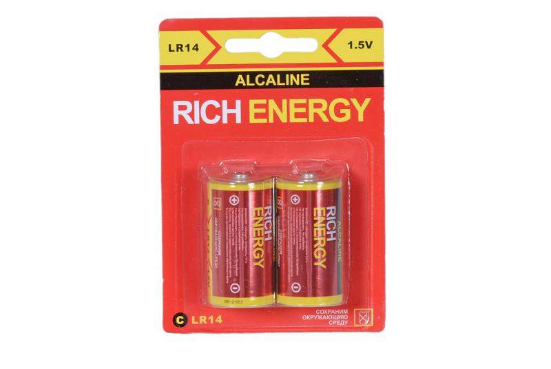 Элемент питания Rich Energy C Alkaline LR14