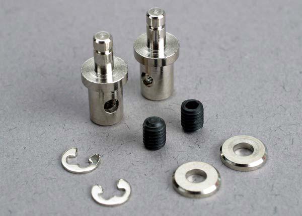 Запчасти для радиоуправляемых моделей Traxxas TRAXXAS Servo rod connectors (2): 3mm set screws