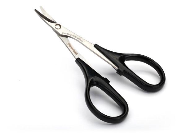 Запчасти для радиоуправляемых моделей Traxxas TRAXXAS Scissors, curved tip high quality surgical stainless steel scissors straight tip scissors curved tip ophthalmic suture scissors tissue scissors