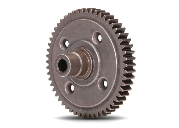Запчасти для радиоуправляемых моделей Traxxas TRAXXAS Spur gear, steel, 54-tooth (0.8 metric pitch, compatible with 32-pitch) (for center differential)