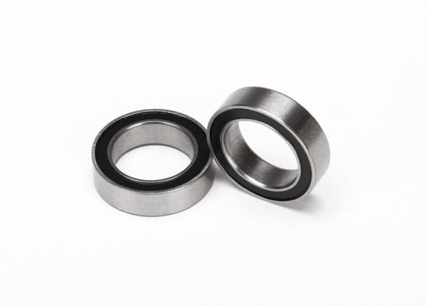 Запчасти для радиоуправляемых моделей Traxxas TRAXXAS Ball bearings, black rubber sealed (10x15x4mm) (2)