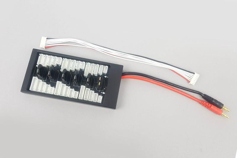 Плата для зарядки Fuse Плата для параллельной зарядки нескольких аккумуляторов Traxxas ID