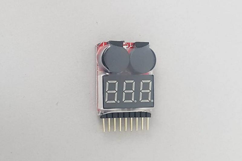 Тестер Fuse 1-6S LiPo Battery Voltage tester