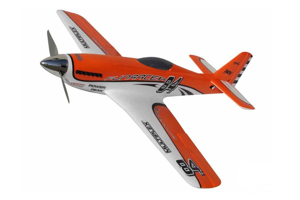 Радиоуправляемый самолет Multiplex RR FunRacer Orange Edition