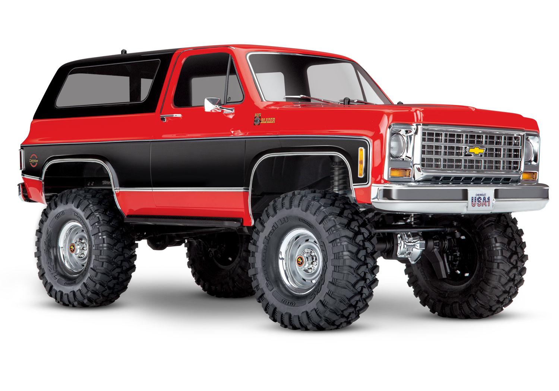 Радиоуправляемая машина TRAXXAS TRX-4 Chevrolet Blazer