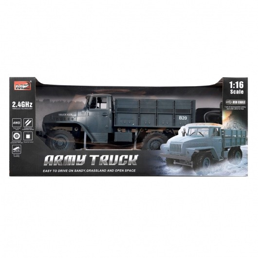 Машина HC-Toys р/у 1:16 УРАЛ