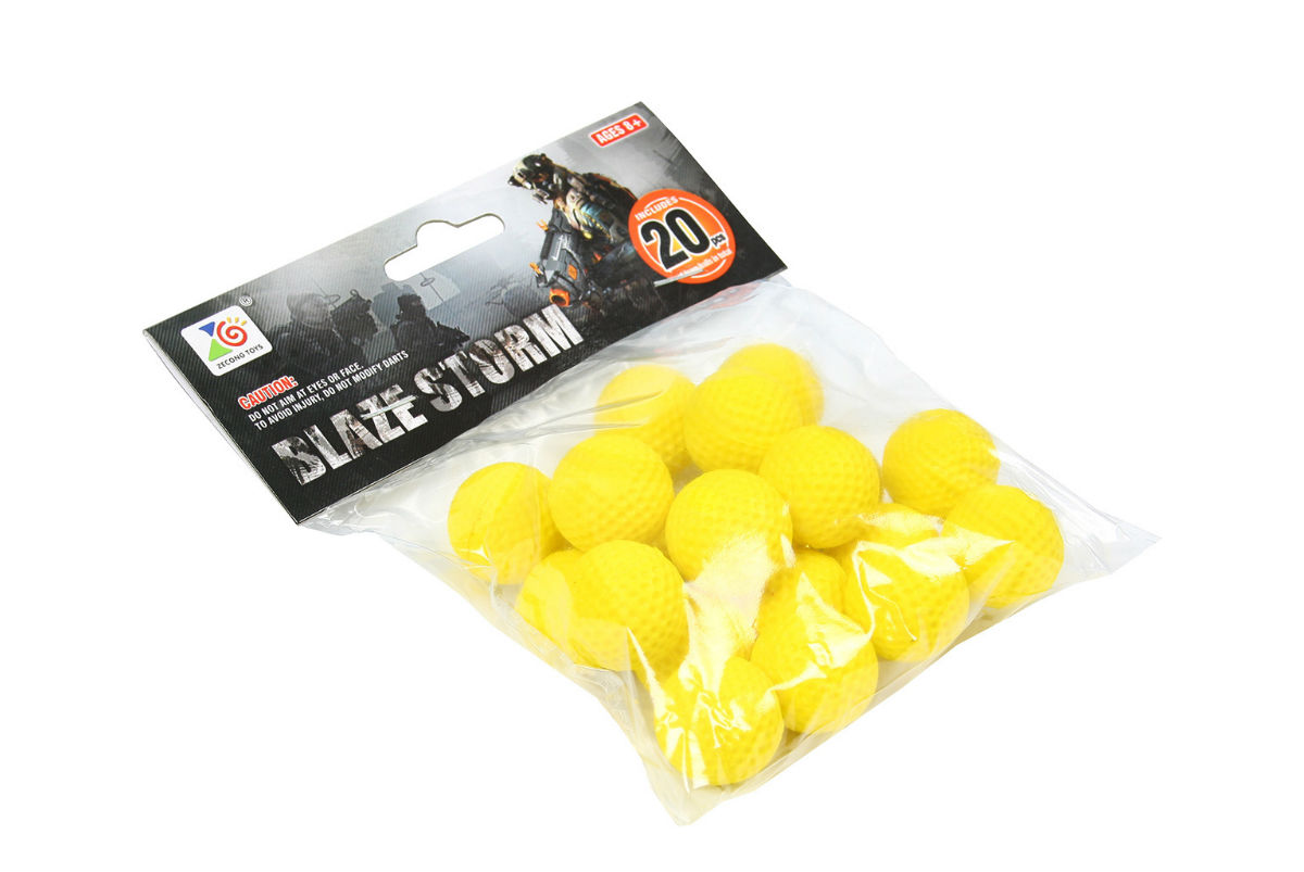 Пульки мягкие HC-Toys Blaze Storm (20 шт)