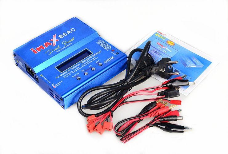 Зарядно-разрядное устройство IMAXRC B6AC 80W + TRX Plug