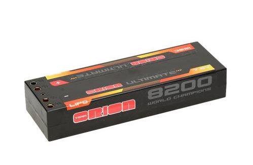 Аккумуляторы и батарейки Team Orion Batteries Аккумулятор Ultimate Graphene HV Lipo 8200 7.6V 120C