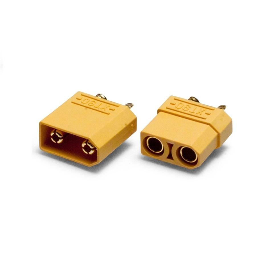 Аккумуляторы и батарейки Fuse XT90 male female 1 pair