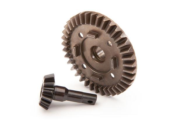 Фото - Запчасти для радиоуправляемых моделей Traxxas TRAXXAS Ring gear, differential/ pinion gear, differential (front) запчасти для радиоуправляемых моделей rpm alias landing gear black