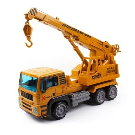 Машинка инерционная HC-Toys Спецтехника 1:12