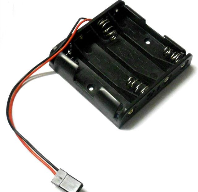 Зарядные устройства и блоки питания Fuse 4 x AA Battery Holder Futaba