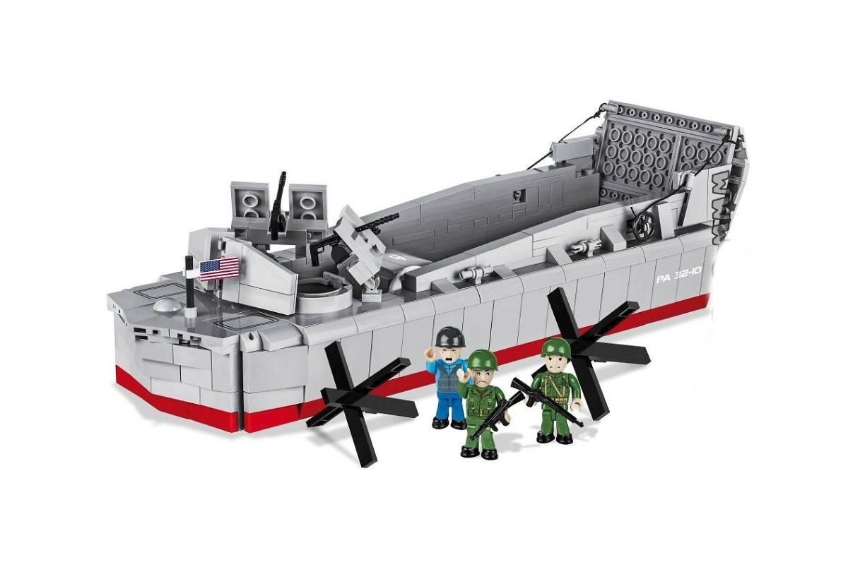 Конструктор COBI Десантный катер LCVP Higgins Boat