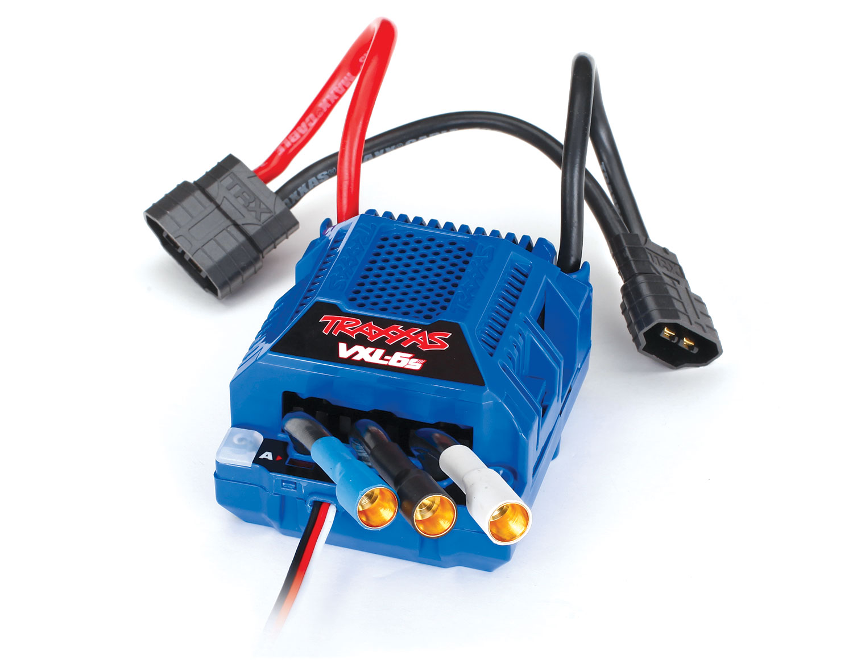 Аппаратура и электроника для радиоуправляемых моделей TRAXXAS VXL-6s Electronic Speed Control, waterproof (brushless)