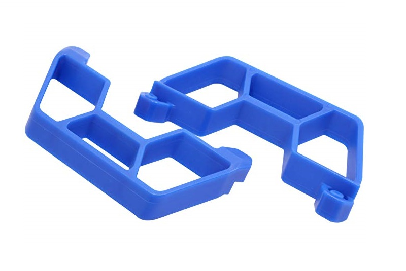 Фото - Тюнинг для радиоуправляемых машин RPM Nerf Bars for the Traxxas Slash 2wd LCG Chassis - Blue new arduino 2wd 4wd rc car chassis motor