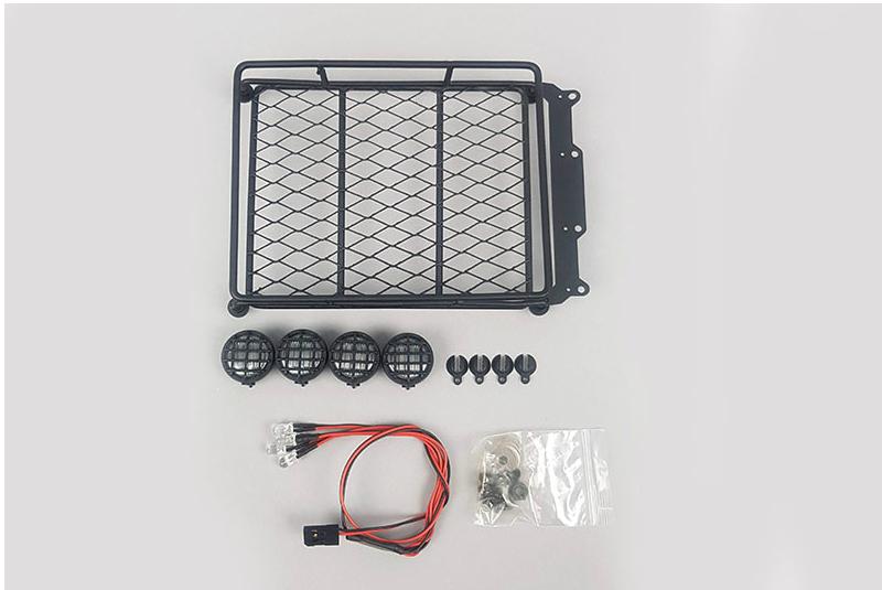Багажник со светотехникой Fuse Roof Crawler Luggage Rack Tray LED Light Bar