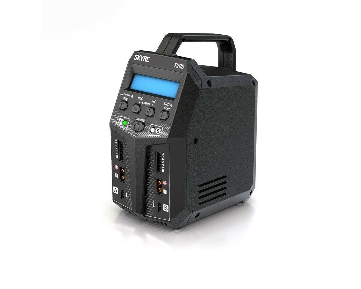 Зарядно-разрядное устройство SkyRC T200 AC/DC Ladegerät LiPo 1-6s 12A 100W
