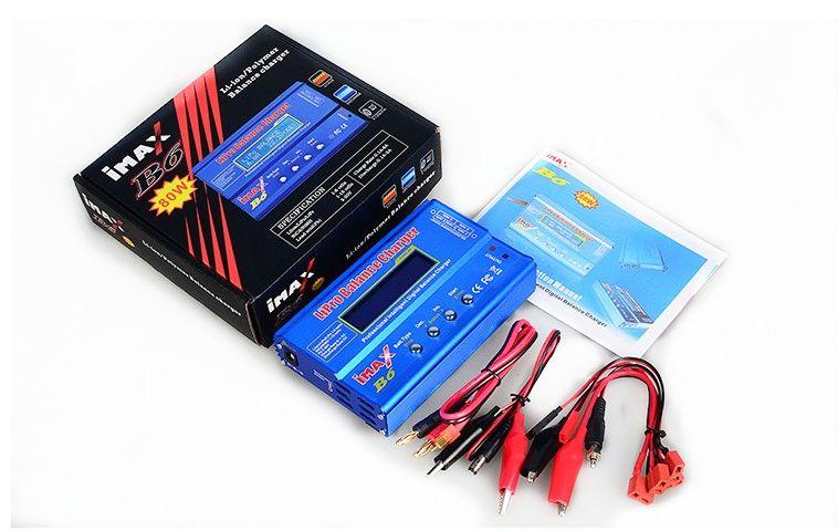 Зарядно-разрядное устройство IMAXRC iMAX B6 80W + TRX Plug
