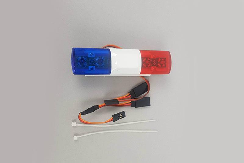 Светодиодная мигалка Fuse Police Car LED (синие-красная)