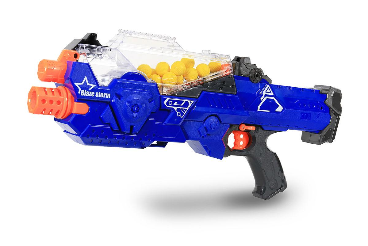 Оружие детское HC-Toys Автомат с мягкими пулями на батарейках Blaze Storm