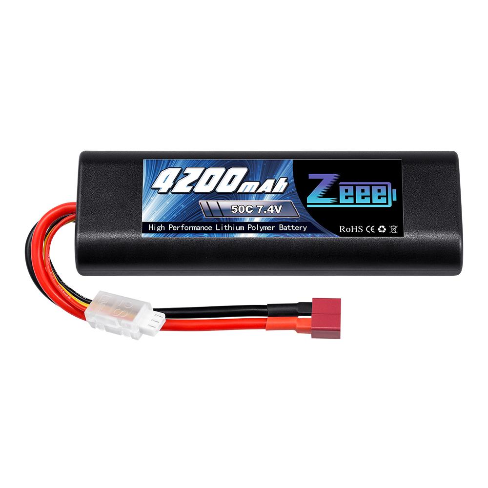 Аккумулятор для радиоуправляемых моделей Zeee Power Аккумулятор Zeee Power 2s 7.4v 4200mah 50c аккумулятор