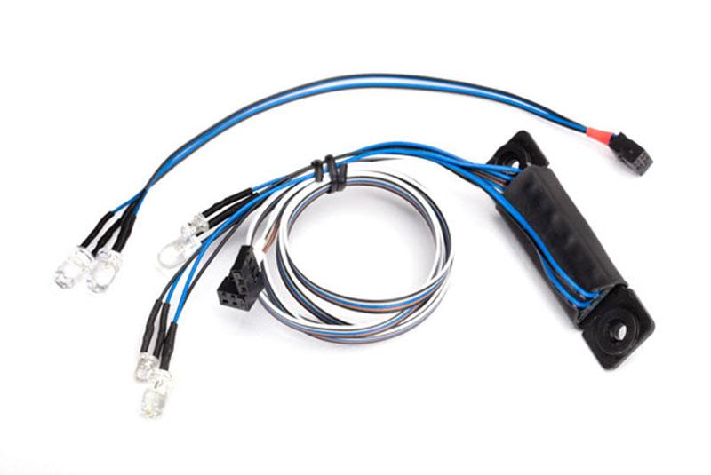 Комплект светотехники TRAXXAS Фары + фонари для TRX-4
