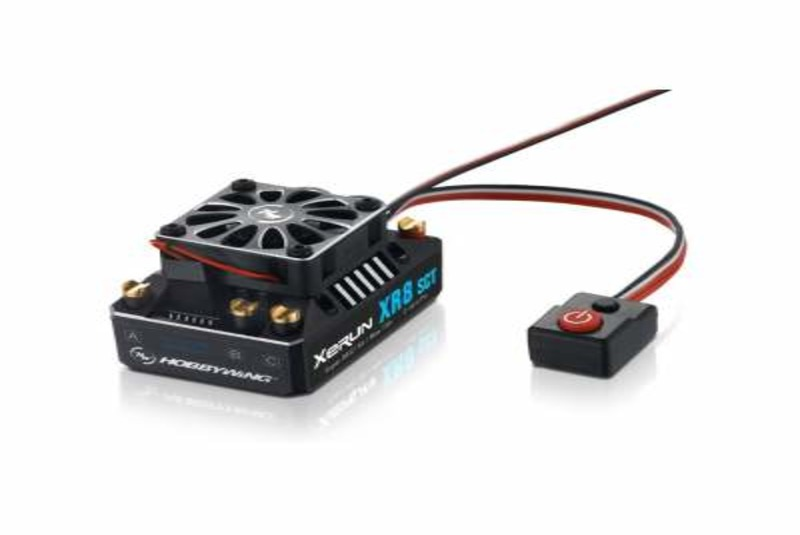 Регулятор оборотов бесколлекторный Hobbywing XERUN XR8 SCT Black Edition