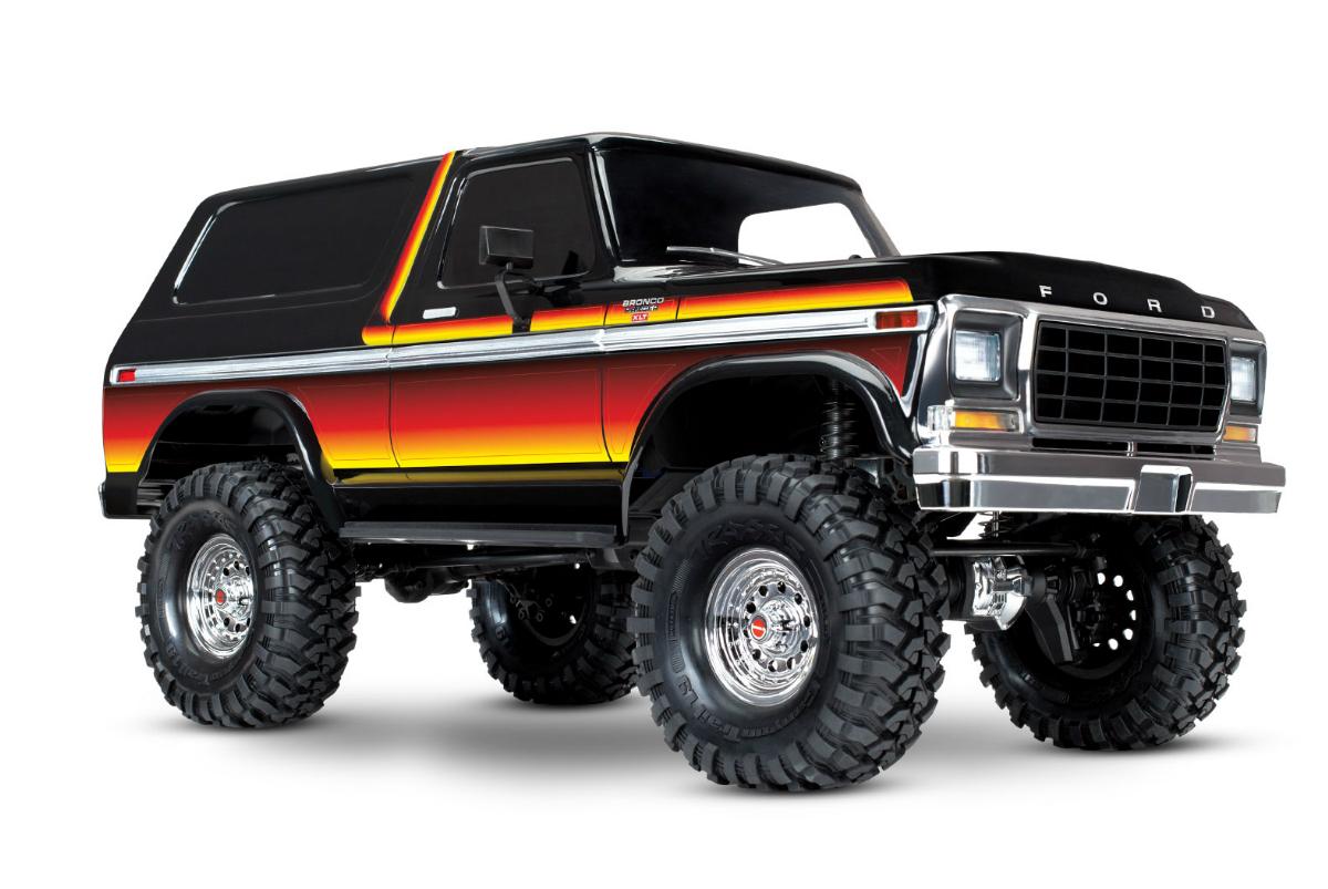 Радиоуправляемая машина TRAXXAS TRX-4 Ford Bronco XLT Ranger 1:10 4WD