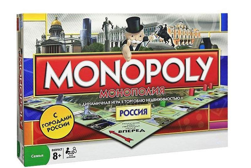 Настольная игра HC-Toys Монополия Россия